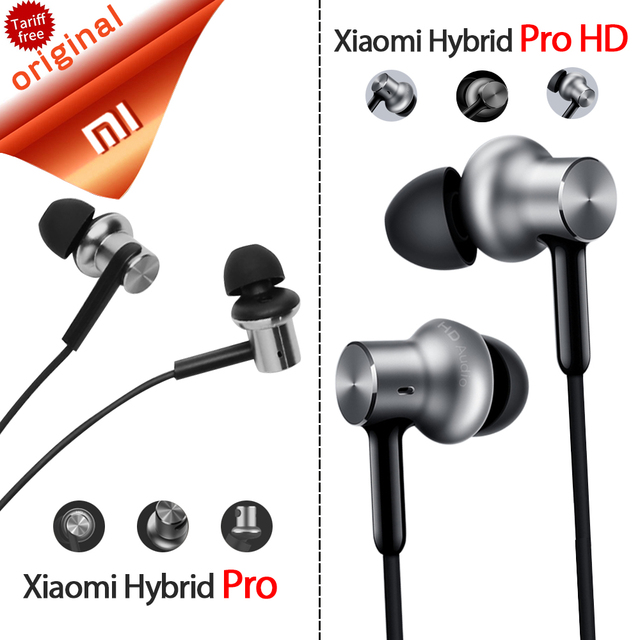 b3d6b310c55 Original Xiaomi Hybrid Pro HD Earphone Circle Iron Wired Xiaomi Earset  Noise Reduction for Redmi Mi