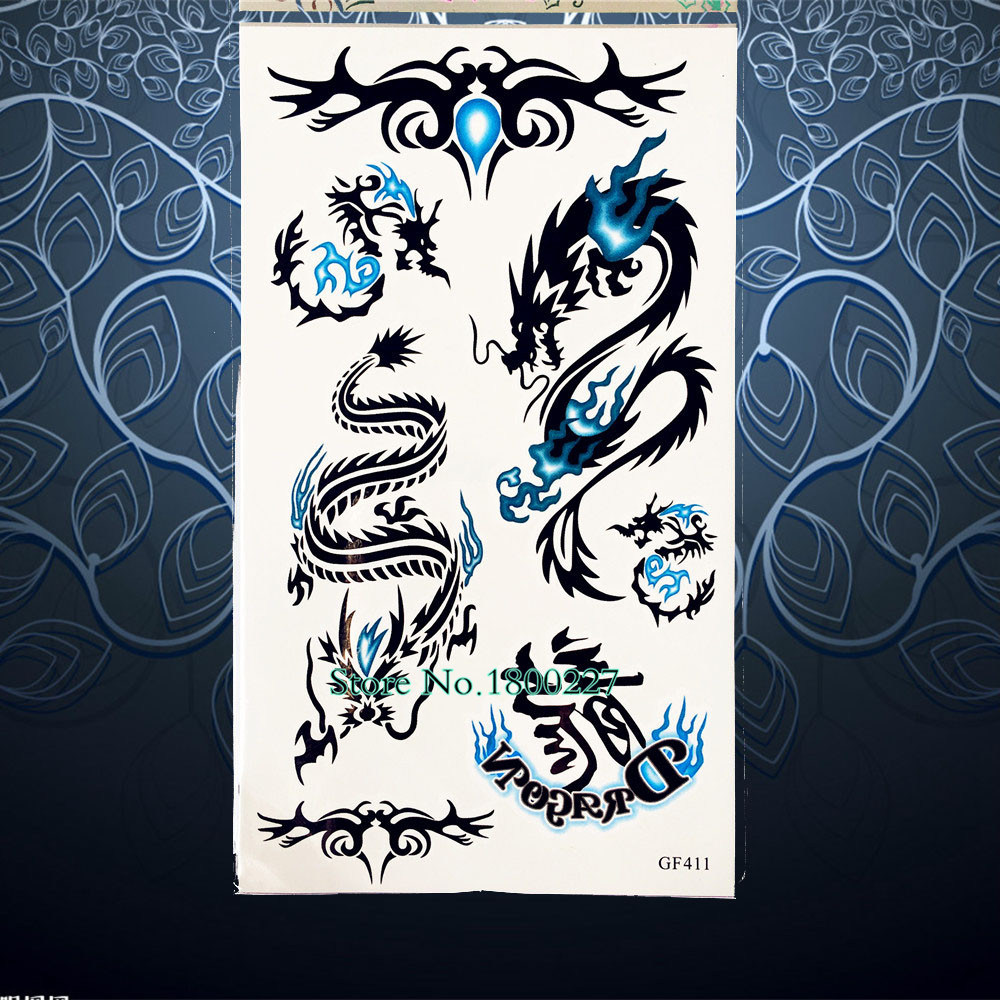 Us 0 74 5 Off 1pc Punk Women Arm Tattoo Keep Calm Word Design Waterproof Fake Tattoo Sleeve For Men Temporary Tattoo Sticker On Leg Pqs A016 In