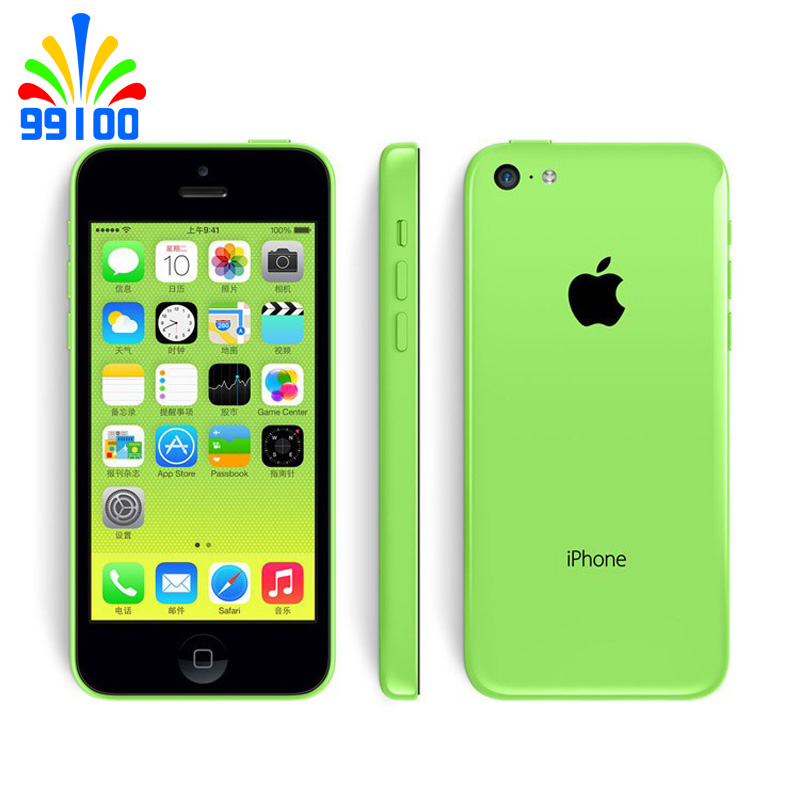 Used Original Apple IPhone 5C Used Phone 4.0inch 8GB/16GB/32GB Dual Core 3G-WCDMA 5color For Option