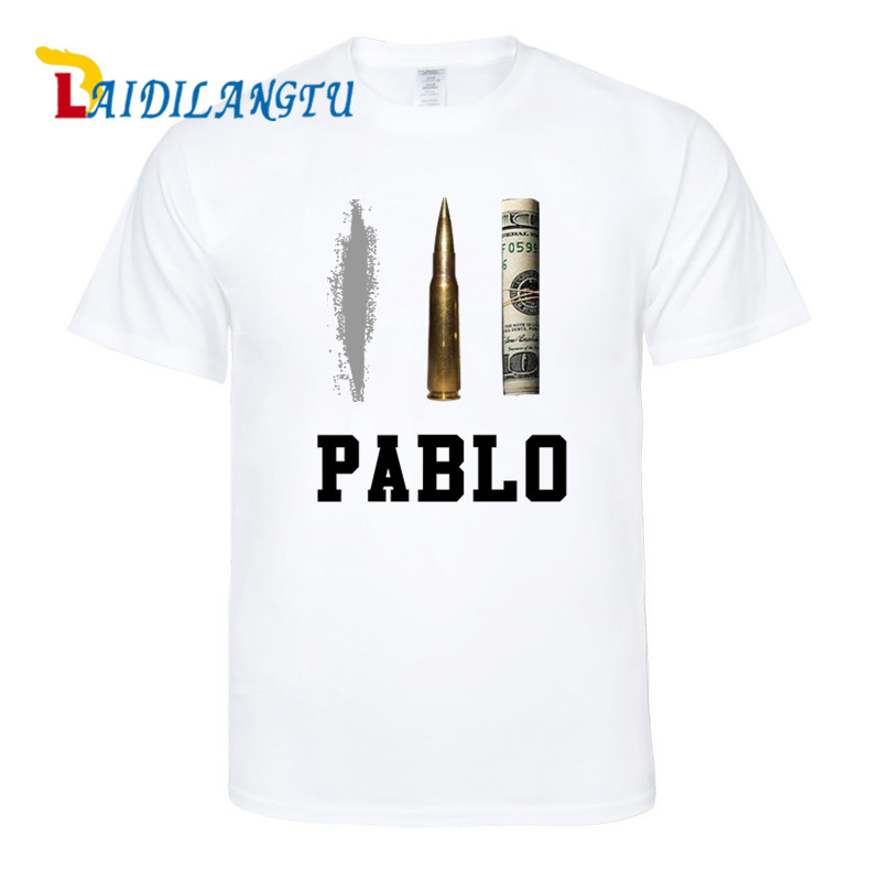 Summer New Brand Clothing T Shirts Men Narcos Pablo Escobar s