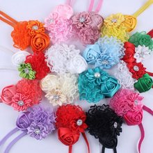 Baby Girls Flower Headband Set Infant Bowknot Lovely Headwear Gift Children Kids Princess Band Hair Accessory HB244S(China)