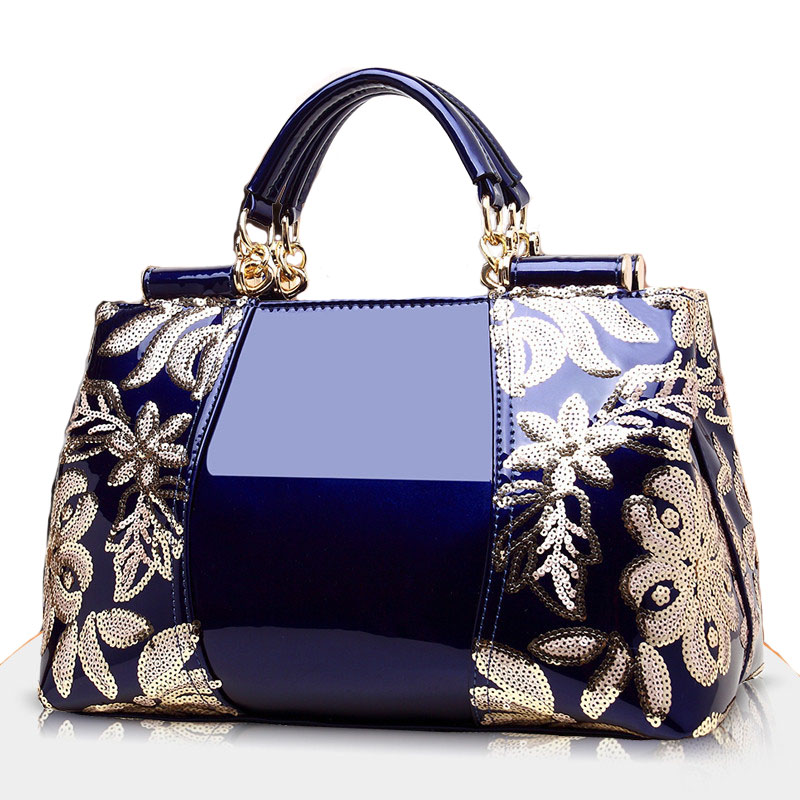 Handbag Women Shoulder Bag Embroidery Tote Large Capacity Messenger Bag Luxury Brand Vintage Handbags High Quality