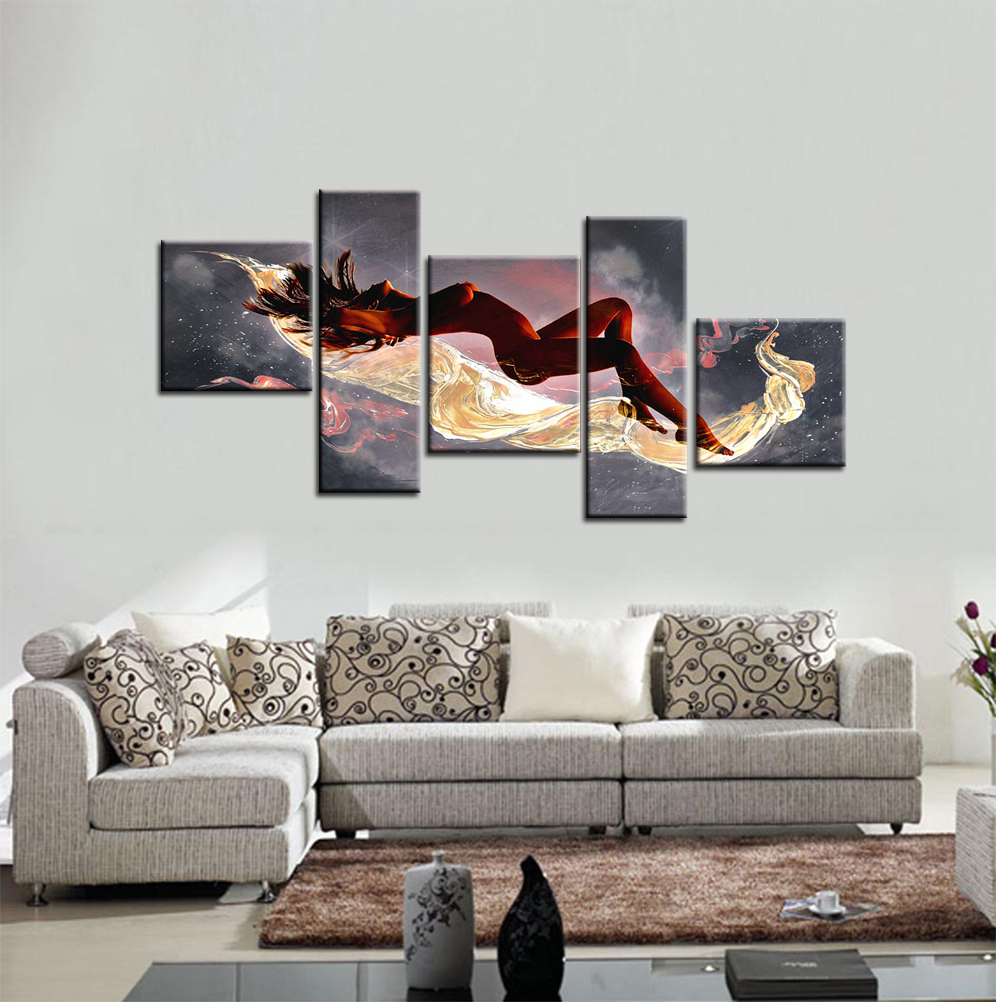 Gentil 2015 Sale New Arrival No Portrait Cuadros Wall Art Women Paintings Sea Painting  Bedroom Walls Canvas Art Tableaux Sur Toile  In Painting U0026 Calligraphy From  ...