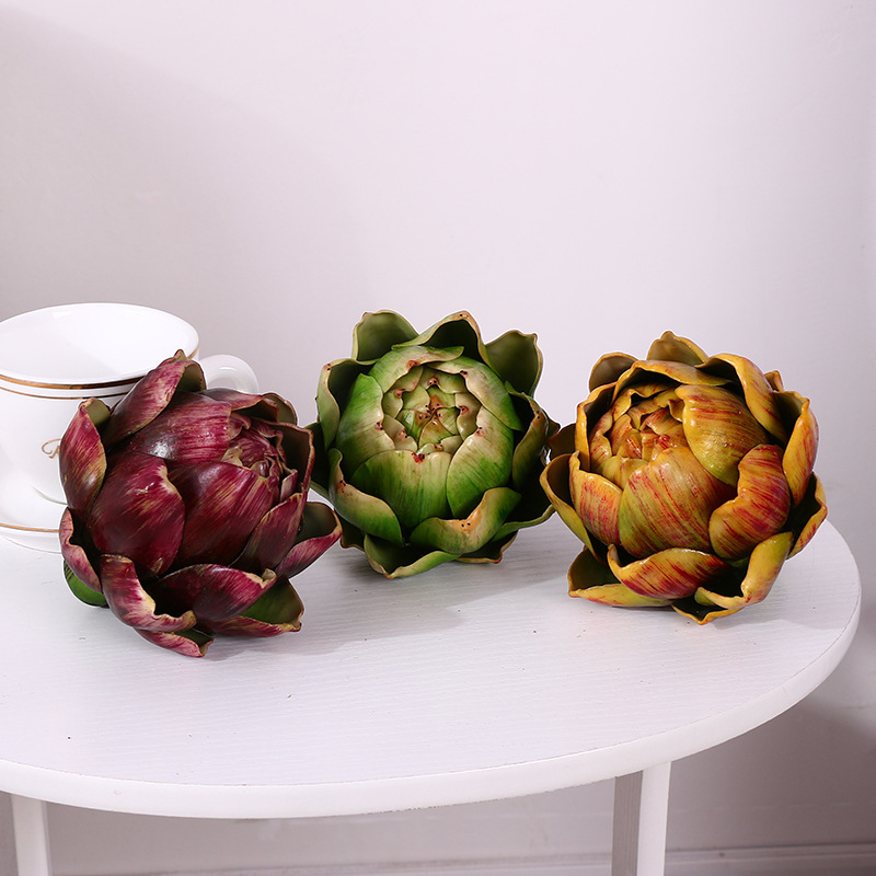 Online buy wholesale artificial artichoke from china for Artichoke decoration
