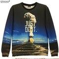 Newsosoo Специальная конструкция толстовка мужчины Ядерного взрыва 3D печатные толстовки мужчины и женщины могут носить кофты и Пуловеры XS3