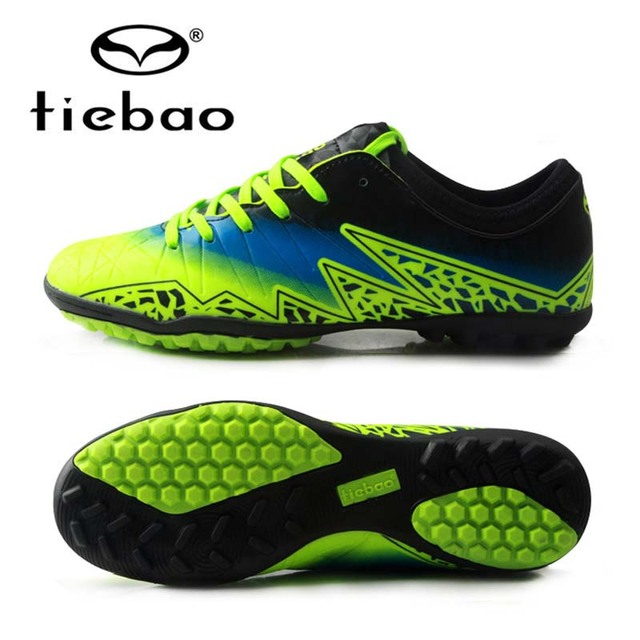 5e53dc3df TIEBAO Brand Soccer Shoes TF Turf Soles Breathable Outdoor Sneakers For Men  Football Training Boots Unisex Football Shoes