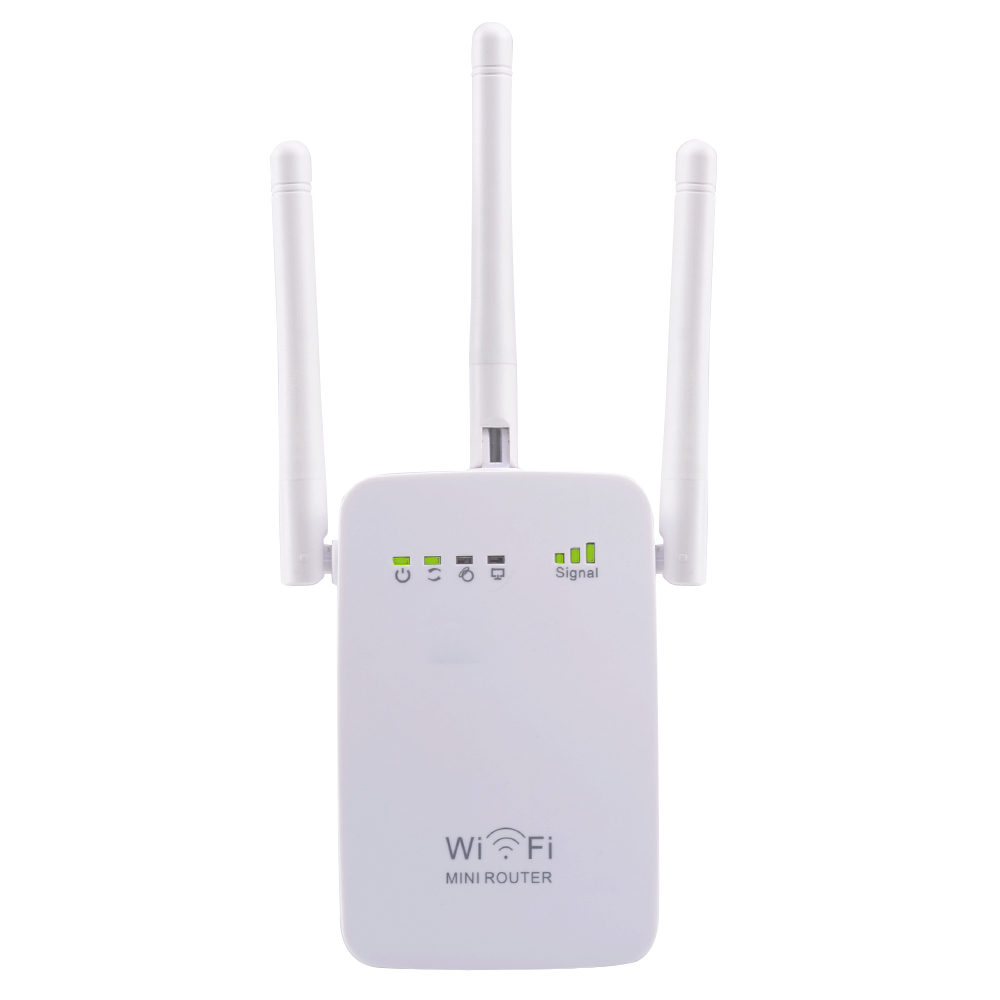 PIXLINK AC750 WIFI Repeater/Router/Access Point Wireless Range Extender wi-fi Signal Amplifier with External Antennas