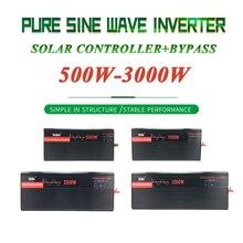 Чистая Синусоидальная волна инвертор с PWM солнечный контроллер с байпас DC12V/24 V/48 V/60 V к переменному току 110 V/120 V/220 V/230 V/240 V для дома/лодка/на солнечной батарее