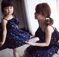 Семья комплект семья одежда соответствующие платья одежду для матери и дочери мода стиль мода платье одежда JY11