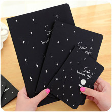 купить 1PCS Notebook Black Pirate Notepad Sketchbook Diary Drawing Painting Graffiti Cover Paper Sketch Book Stationery Gift 28 pages по цене 154.12 рублей