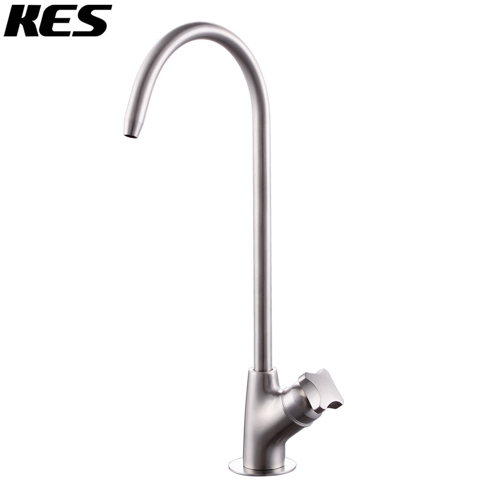 Kes Lead Free Beverage Faucet Drinking Water Filtration System 1 4 Inch Sus304 Stainless Steel Z503a C In Kitchen Faucets From Home Improvement On