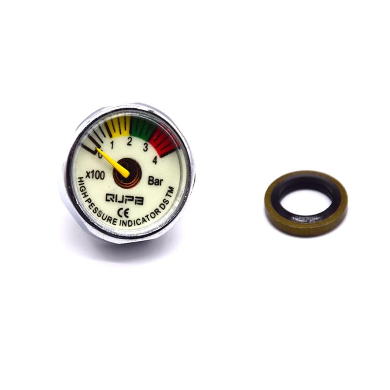 PCP Paintball Airforce 25mm M10x1 High Pressure Gauge Scuba  Manometre 40MPA/300BAR/5000PSI/6000PSI