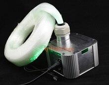 DIY optic fiber light kit led light engine with optical fiber twinkle star sky ceiling light 32W RGB IR remote 600pcs fibre