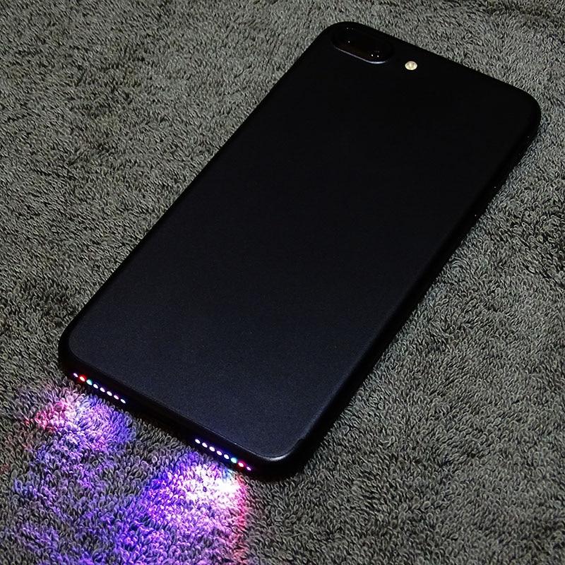 Speaker Led Light Glow Night Cool Flash Light Sensor Cable For Iphone 6 6plus 6s 6s Plus 7 7 Plus 8 Led Light