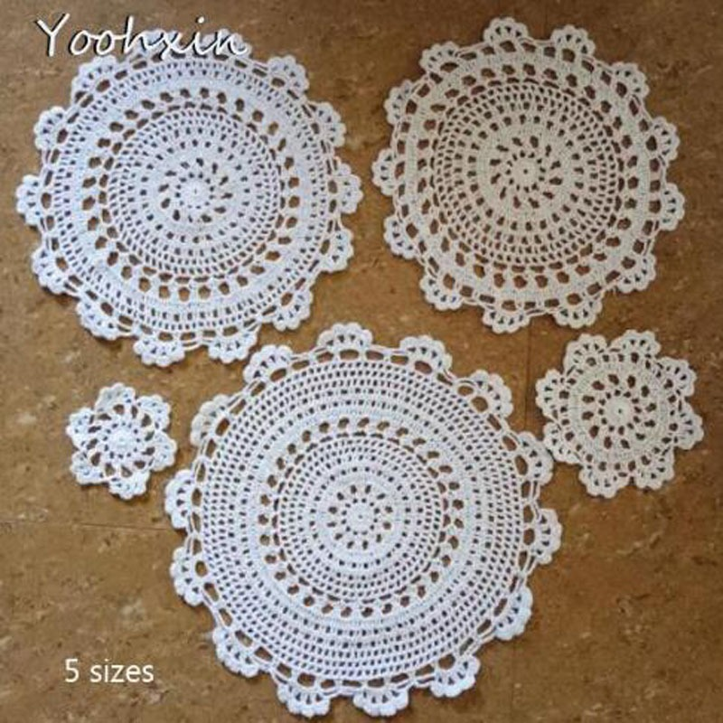 Tablecloths Alert Modern Lace Cotton Embroidery Place Table Mat Cloth Pad Cup Mug Drink Doilies Dining Tea Coaster Wedding Dish Placemat Kitchen