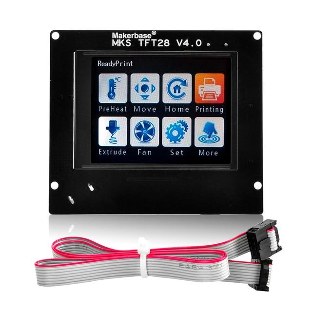 2.8 MKS TFT28 V4.0 écran tactile contrôleur intelligent Soutien U disque et carte SD pour 3D imprimante