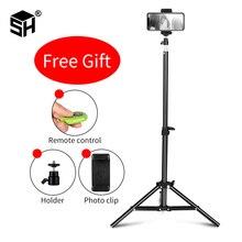Selfie Light Stand Tripod With 1/4 Screw Head Bearing For Studio Softbox Flash Umbrellas Reflector Lighting Flashgun Lamp все цены
