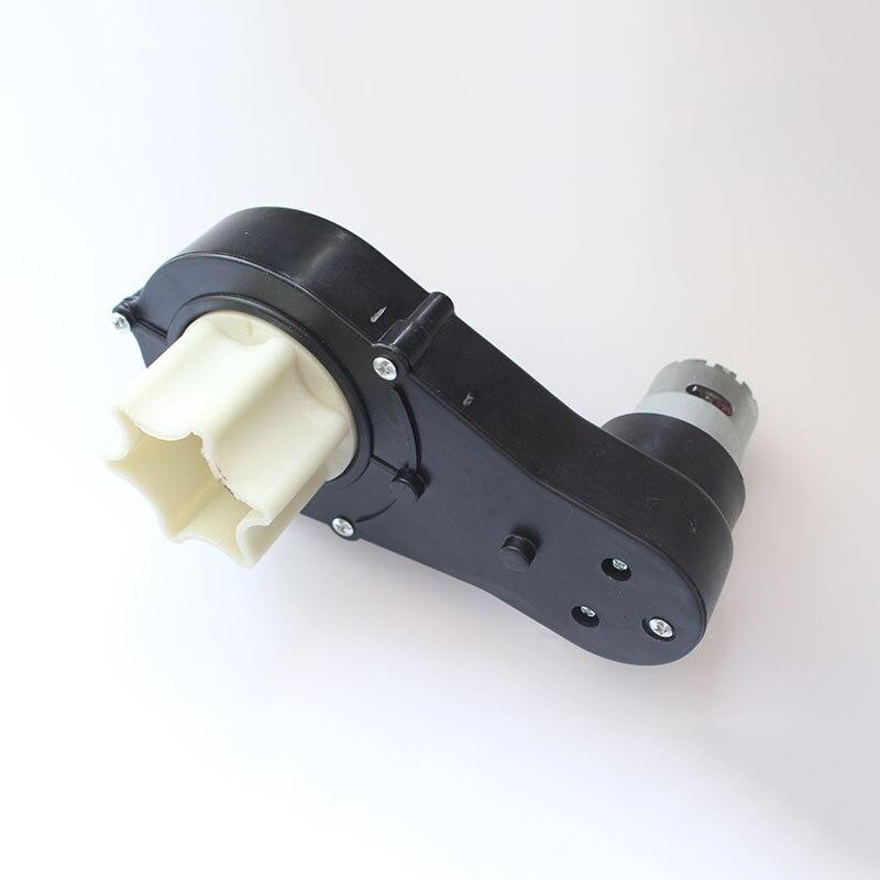 caixa de engrenagens eletrica do carro das criancas com motor motor sextavado da caixa de engrenagens