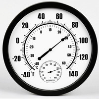 New 1pcs 132mm Guitar Violin Thermo Hygrometer Moisture Meter Humidity Monitor Thermometer 2 Styles To Choose