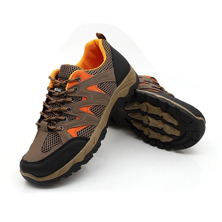 2018 Sommer Atmungsaktive Outdoor Mesh Turnschuhe Männer Schuhe Atmungsaktiv Weichen Boden Nicht-slip Arbeit Schuhe Schuhe Turnschuhe