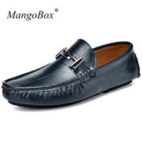 2018 Luxury Shoes Handmade Loafers Comfortable Mens Casual Shoes For Youth Designer Mens Sneakers Split Leather