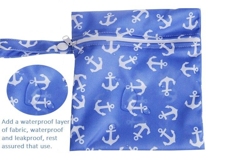 Bolsa de almacenamiento de pañales para bebés de una sola capa con - Pañales y entrenamiento para ir al baño - foto 1