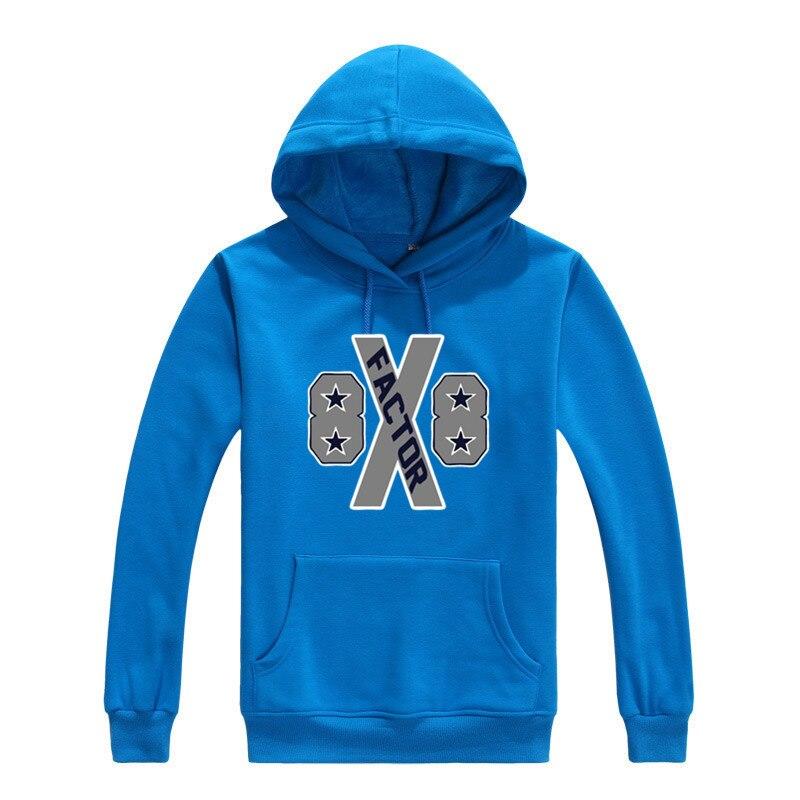 2017 Dez Bryant X Factor Cowboys 88 Men Sweashirt Women warm hoodies 1125-2