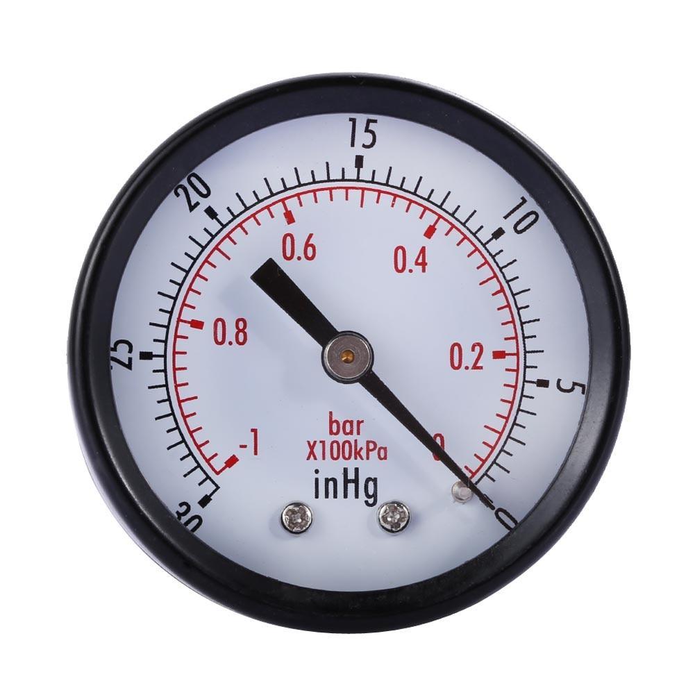 Pressure Measuring Instruments : Quot copper alloy dry utility vacuum pressure gauge blk