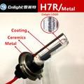 2XCnlight H7R hid xenon lamp bulb 35W metal base ceramics holder CNLIGHT H7R coating 4300K 5000K 6000K automobile styling light