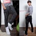Emoji Joggers Sale 2016 Hot Hitz Single Product Harem Feet Across Lanyard Decorated Male Fashion Loose Men Pants Military