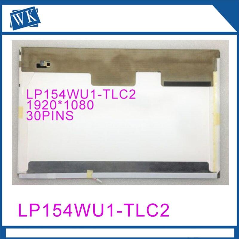 Free shipping LP154WU1-TLC2 LP154WU1-TLC1 LP154WU1-TLB1 15.4 inch laptop lcd screen 1920*1080 LVDS 30 pinFree shipping LP154WU1-TLC2 LP154WU1-TLC1 LP154WU1-TLB1 15.4 inch laptop lcd screen 1920*1080 LVDS 30 pin
