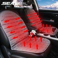 Car Seat Cover Heater Heating Pads Cushion 12V Universal Household Heater Warmer Winter Interior Accessories SEAMETAL