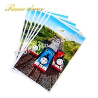 500pcs Lot Thomas Theme Party Gift Bag Party Decoration Plastic Candy Bag Loot Bag For Kids