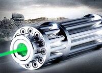 AAA NEW green laser pointer 5w 5000m LED Flashlight Focus Burning 532nm ,Lazer Beam Military burn black match pop balloon+5 caps