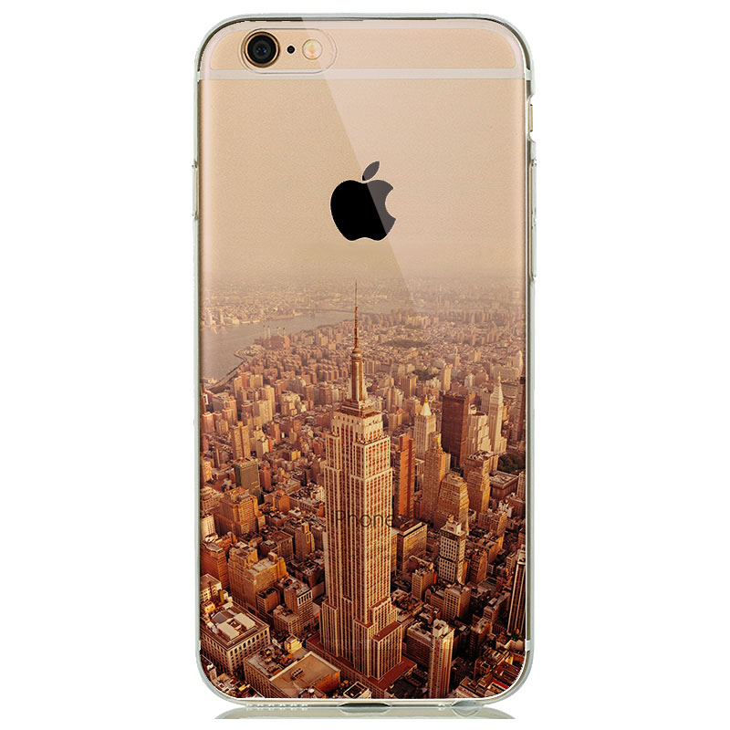 New York Paris London City Phone Case For Iphone 6 6s