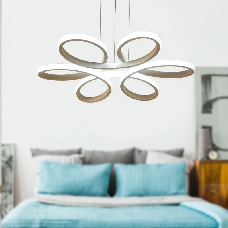 Акриловый светодиодный белый подвесной светильник креативный стиль бар подвесной светильник Декор современный подвесной светильник для г... - 5
