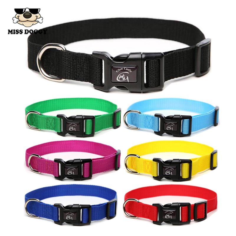 Martingale Collar With Buckle Black Dog