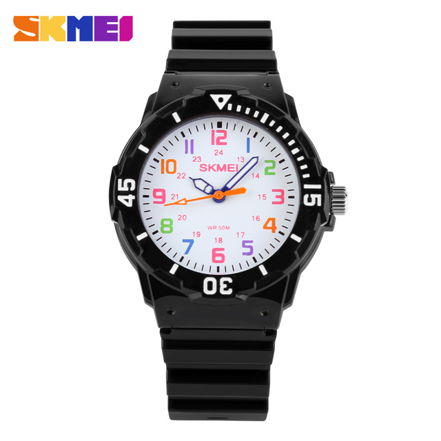 Skmei  Watch Fashion Casual Watches Quartz Wristwatches Waterproof Jelly Kids Clock boys Hours girls Students Wristwatch