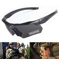 3 линзы Поляризационные тактические очки с рамкой для близорукости военные армейские очки для стрельбы CS военные игры страйкбол очки для ох...