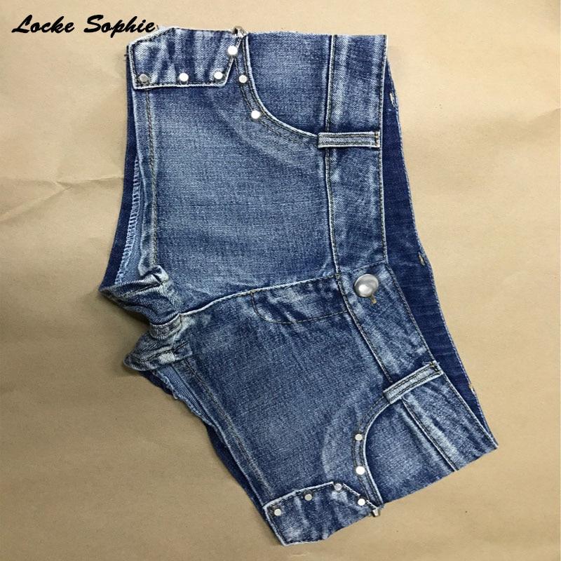 1pcs Low waist Sexy Women 39 s jeans denim shorts 2019 Summer Fashion denim cotton Splicing zipper Ladies Skinny super short jeans in Shorts from Women 39 s Clothing