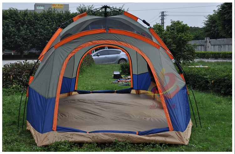 beach tent 5 6 person large family tent c&ing tent sun shelter gazebo tourist tent for Advertising/exhibition-in Tents from Sports u0026 Entertainment on ... & beach tent 5 6 person large family tent camping tent sun shelter ...