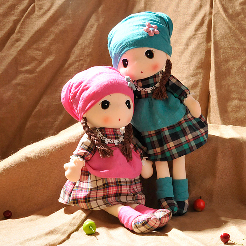 Valentine Sweet Priness Girl Rag Dolls Toys Fantasy Stuffed Dolls Wedding Party Rag Dolls Kids in Accompany Sleep Birthday Gift