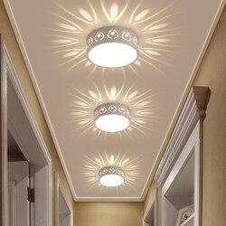 Dia15cm metalowa lampa do korytarza LED korytarz nowoczesna lampa sufitowa LED okrągła lampa sufitowa