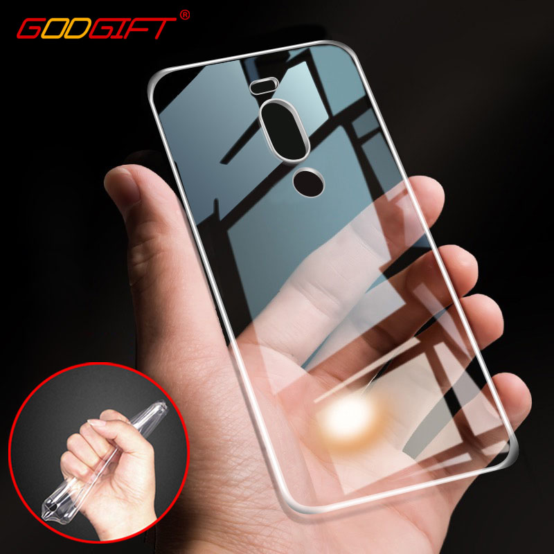 GodGift <font><b>Meizu</b></font> X8 Case Luxury <font><b>Transparent</b></font> <font><b>Meizu</b></font> V8 Pro Silicone <font><b>Cover</b></font> For <font><b>Meizu</b></font> V8 V 8 Pro <font><b>m3s</b></font> X 8 Phone Case <font><b>Back</b></font> <font><b>Cover</b></font> image