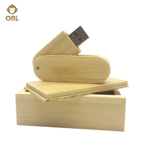 Bamboo Hardcover USB Flash Drives 4GB 8GB 16GB 32GB 64GB 128GB Pendrive Memory Stroage Stick Pen Drive USB Memory Stick USB 2.0
