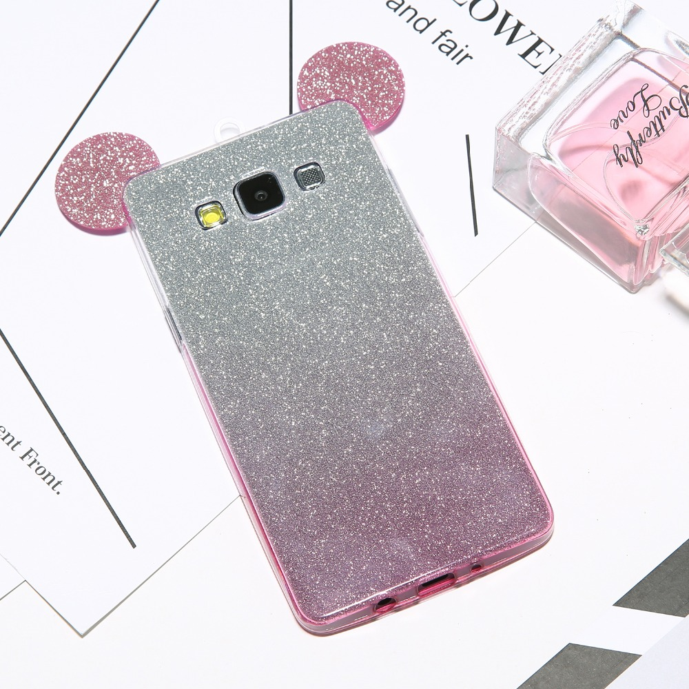 Lilo And Stitch Quotes R0098 Samsung Galaxy J7 Prime Case Goospery Oppo A5 A3s Pearl Jelly J5 2016 Luxury Bling 3d Mouse Ears Silicone Glitter Gradient For