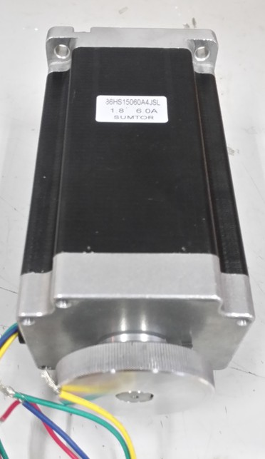 цена на High Quality Dual Shaft NEMA 34 Stepper Motor with Handwheel 12N.m Body Length 150mm CE Rohs CNC Stepping Motor