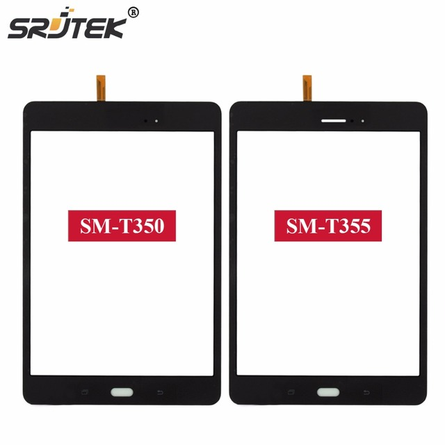 """8"""" Parts For Samsung Galaxy Tab A 8.0 T355 T350 SM-T355 SM-T350 Touch Screen Digitizer Sensor Glass Panel Tablet Replacement"""