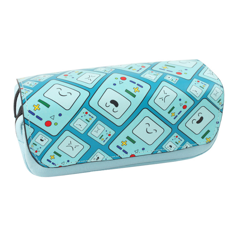 Cartoon Adventure Time BMO Pencil Case Bag Student Stationery Pouch/Cosmetic/Travel Makeup/Storage Bag