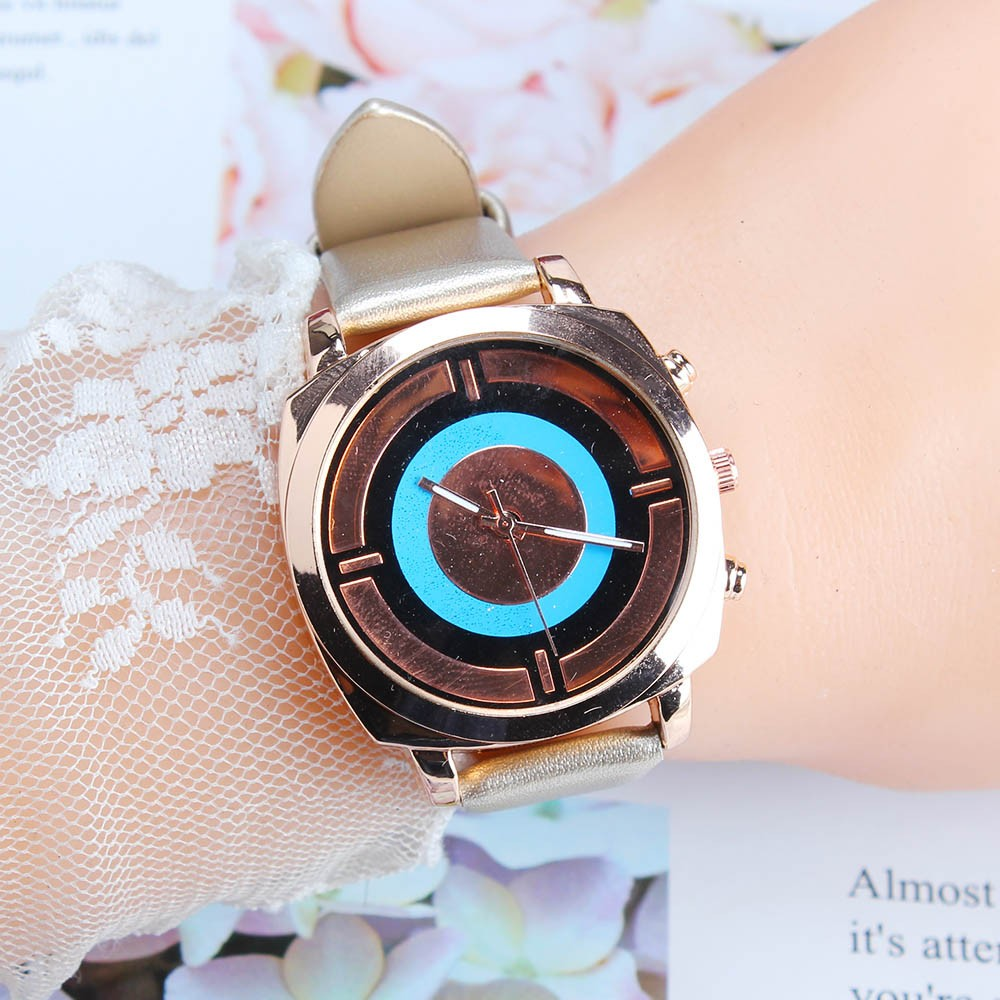 Woman Watch Fashion Leather Band Analog Quartz Square Wristwatch Watches relogio feminino woman watch 2019 zegarek damski